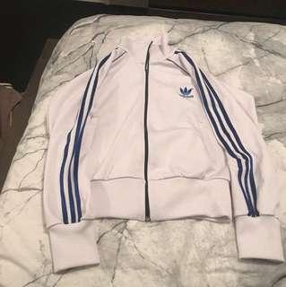 Adidas jacket trefoil