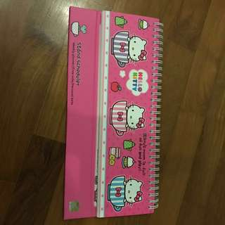 Hello Kitty Weekly Planner
