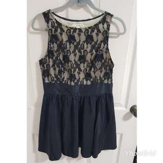 Forever 21 lace panel dress (size L)