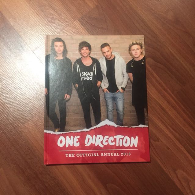 1D THE OFFICIAL ANNUAL 2016