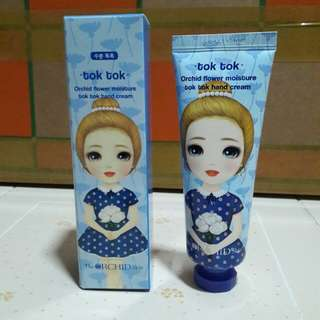 Tok Tok Orchid Flower Moisture Hand Cream (Original from Korea)