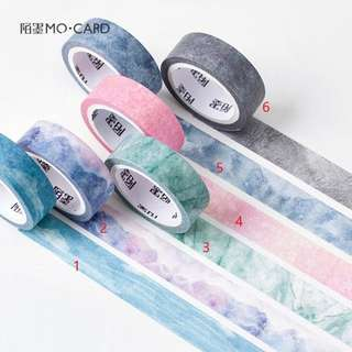 Marble Series Japanese Washi Tape