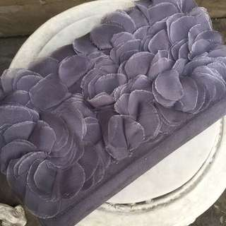 Purple Petals Clutch