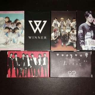 SEVENTEEN/WINNER/IKON/GOT7/INFINITE/YoungJae Lomo Card Set