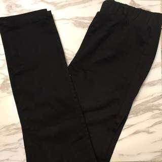 GU 黑色緊身牛仔褲