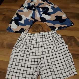 Korean Style Pants 6 Mths (2 pants)