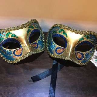 Authentic Venetian Mask Costume