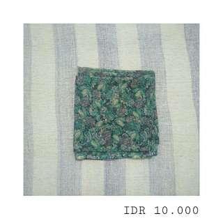 Flowery 1 Hijab Square