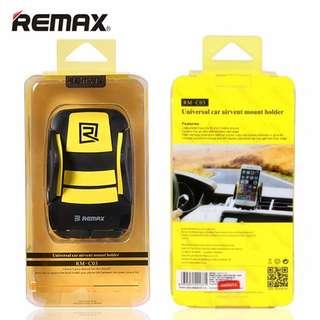 Remax 汽車移動電話支架 – 黃黑色