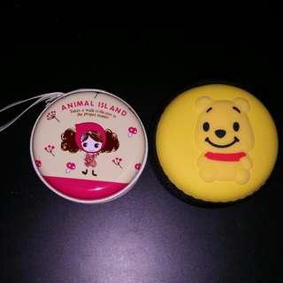 Cute Cartoon Earphone Holder/Lovely Coin Pouch