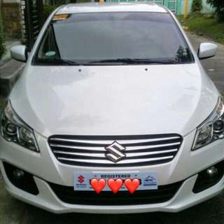 Brand new Suzuki Ciaz rental with driver