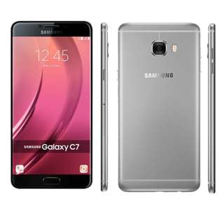 Samsung C7 64GB Silver 97%新! 連盒&charger