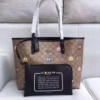 Coach reversible Tote Bag / shoulder bag