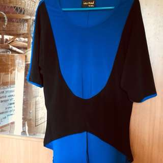 Blouse ( blue & black colors)