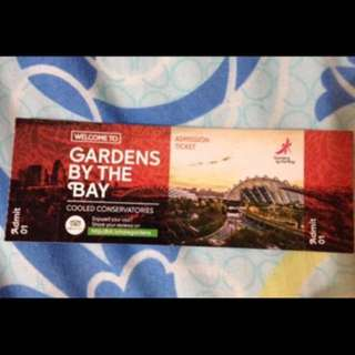 Gardens by the bay admission tickets