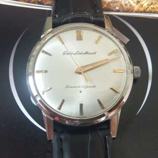Early Seiko Lord Marvel 5740 - Gold Indices in SS case