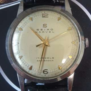 Early Seiko Lord Marvel with unique dial