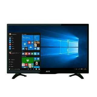 "Ace 19"" Super Slim Full HD LED TV Black LED-505 - via COMPUTER MONITOR"