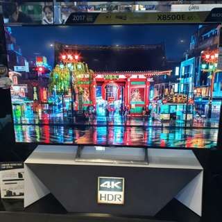 Brandnew Sony 4k UHD HDR Android led tv