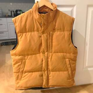 Timberland Size M down Vest