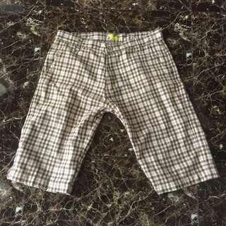 SALE GILA-GILAAN !!!⚡️⚡️⚡️⚡️ Celana Pendek motif kotak, kasual abis, pas buat acara semiformal