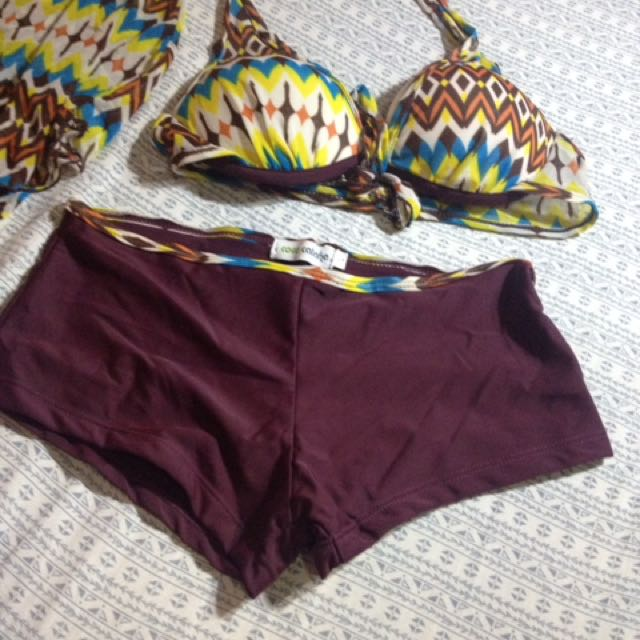 2 pc swimsuit with cover up
