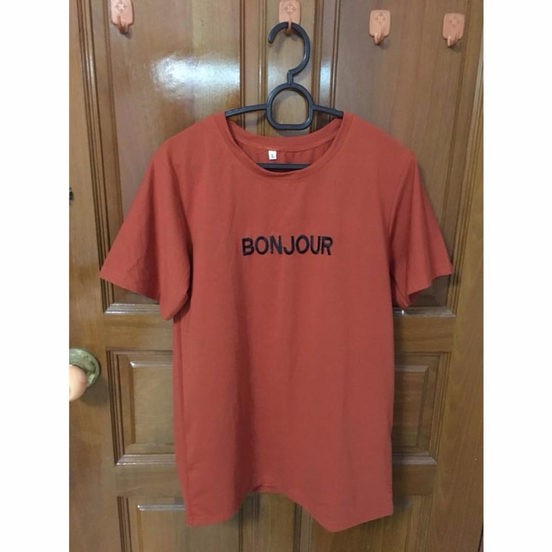 [3 for $15] Bonjour shirt