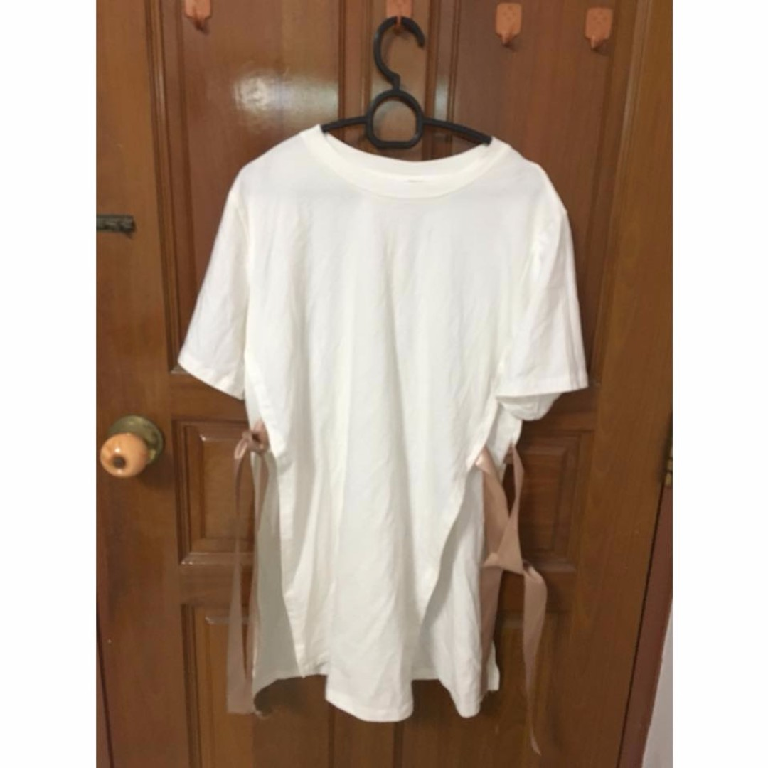[3 for $15] Korean Ribbon sides shirt