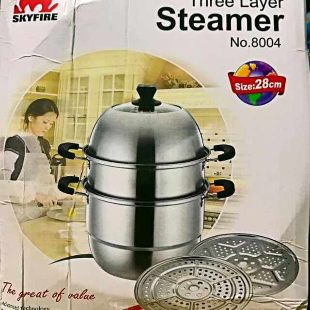 3Layer Steamer