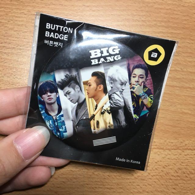 滿500打9折✨ BIGBANG MADE徽章