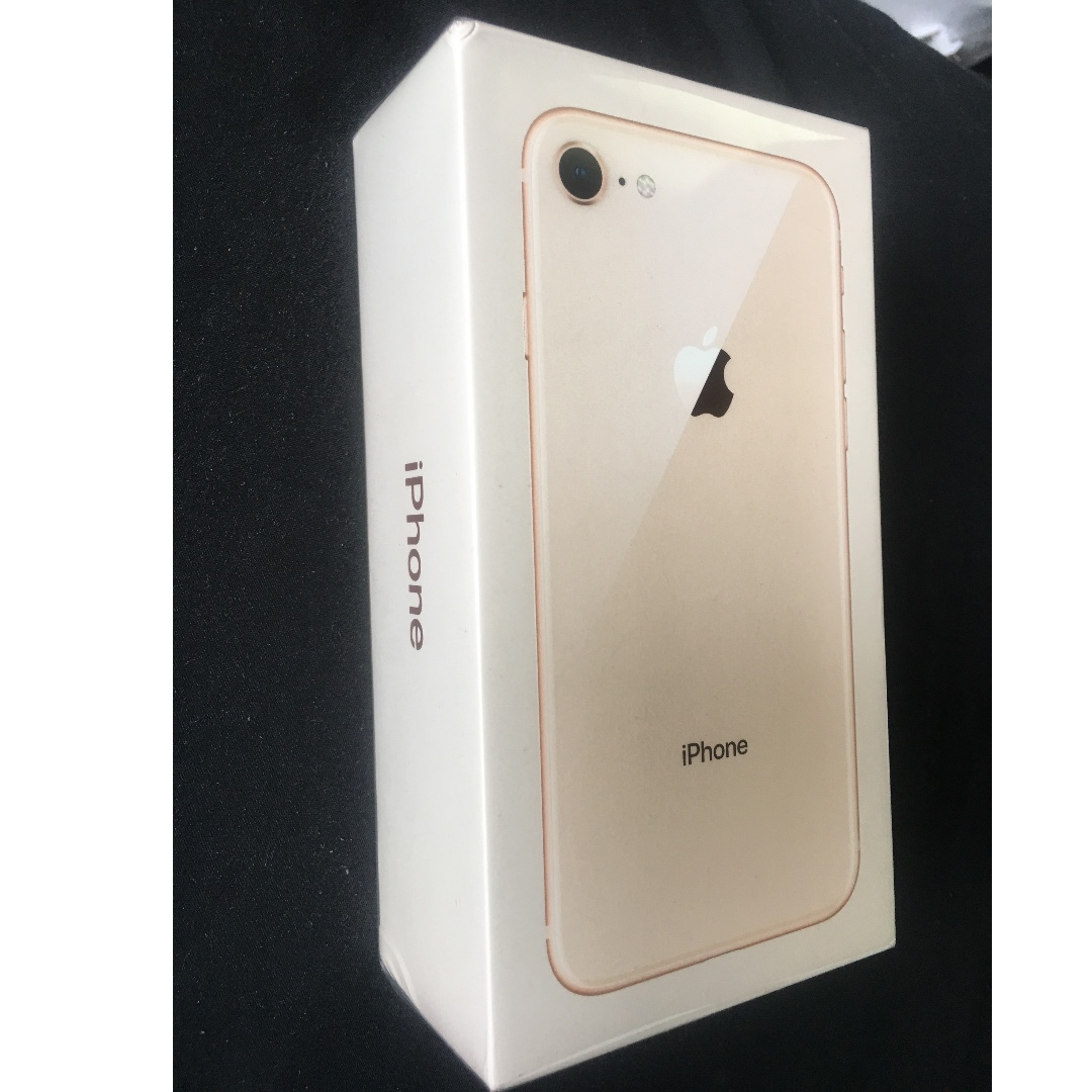 64GB/iphone8/GOLD/Sealed (Un-opened)