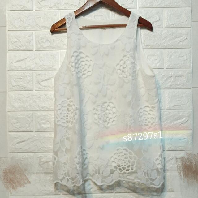 雪紡緹花衣