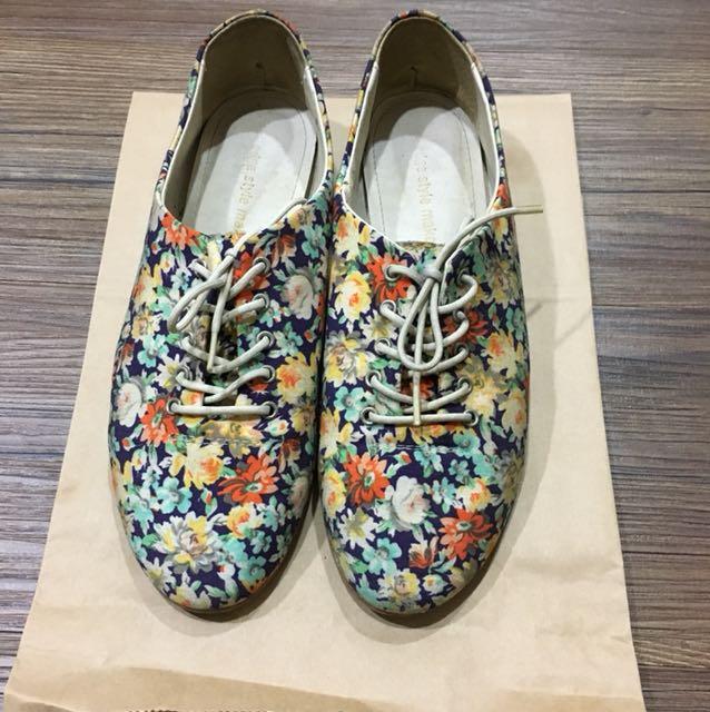 花花休閒鞋(韓國貨)