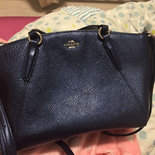 AUTHENTIC BRAND NEW) Coach Navy Blue Sling bag 68a424742