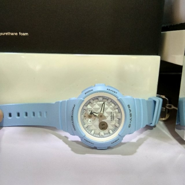 26eb081d8b * FREE DELIVERY * Brand New 100% Authentic Casio BabyG Pastel Blue & White  Dial Baby G Watch Baby-G BGA190BE 2 BGA190BE-2ADR