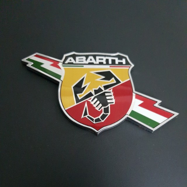 Abarth Emblem (scorpion, fiat), Car Accessories on Carousell