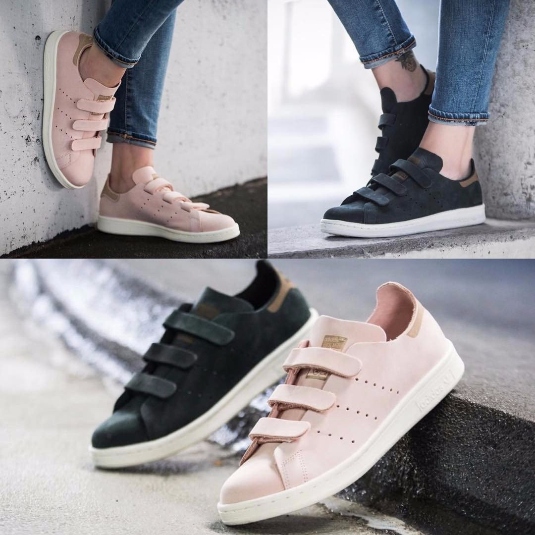 Adidas Stan Smith OP CF W (Vapour Pink), Women's Fashion, Shoes on Carousell