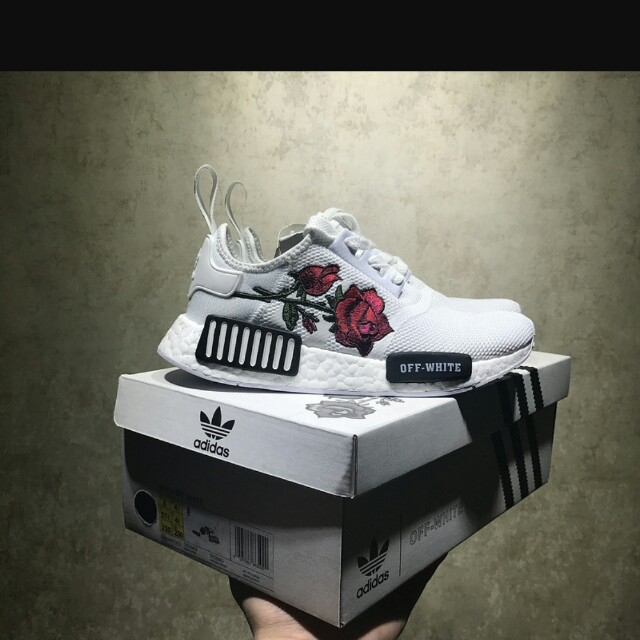 new style 51cb6 7607f Adidas x OFF WHITE NMD, Men's Fashion, Footwear on Carousell