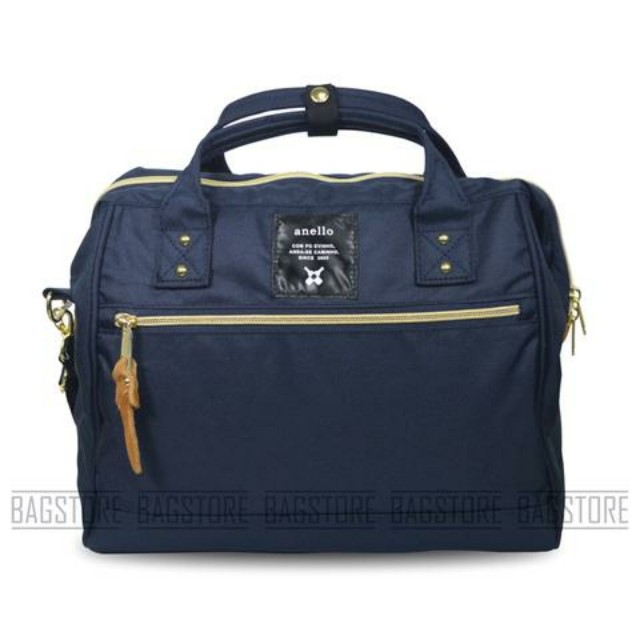 Anello Boston Bag Large Navy