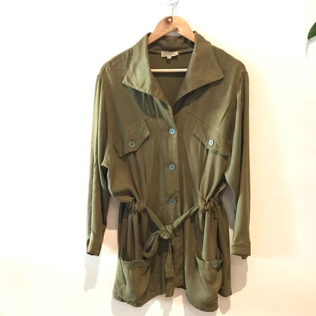 Arnhem The Label - Safari Jacket Khaki Green - Size M