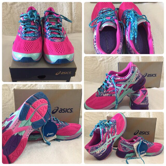 Asics Gel-Noosa tri 10 Pink glow/Aqua splash/fushsia Limited Editions Size 39, 24,5cm Us 7 1/2.