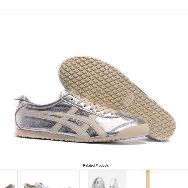 separation shoes 0eee9 a19f0 asics onitsuka tiger mexico 66 silver beigemens womens shoes ...