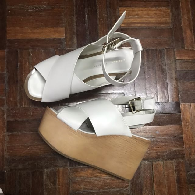 Authentic Charles Keith Wedges