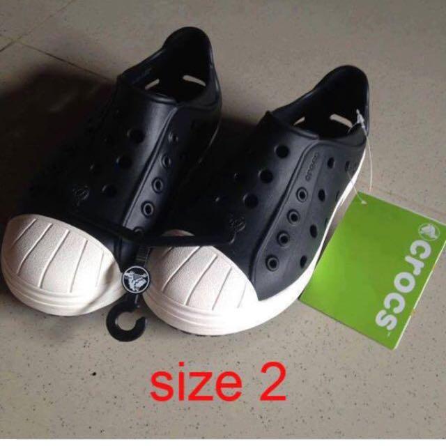 Authentic Crocs Bump It (Big Kids - 2)
