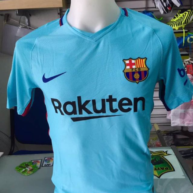 aaad2ab138a Barcelona Away Kit 201718 Aeroswift Sports Athletic Sports