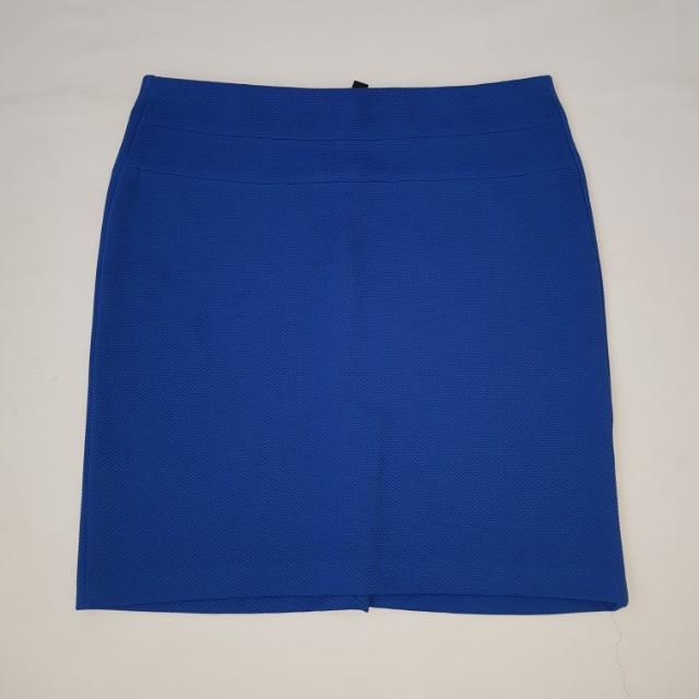 Blue skirt size 14