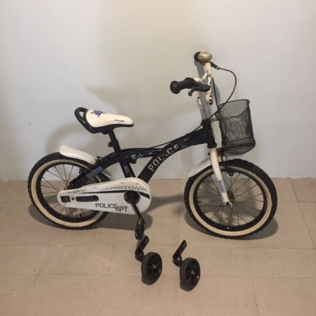 Bmx Rudge Kids Bicycle In White Black Bicycles Pmds Bicycles
