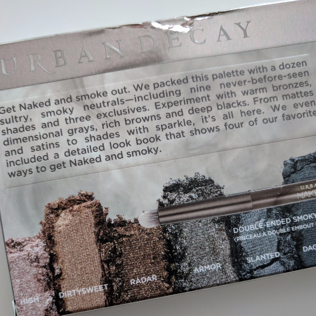 Reduced Price! BNIB Authentic Naked Urban Decay Smokey From the USA