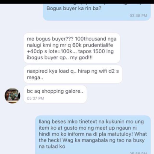 Bogus buyer
