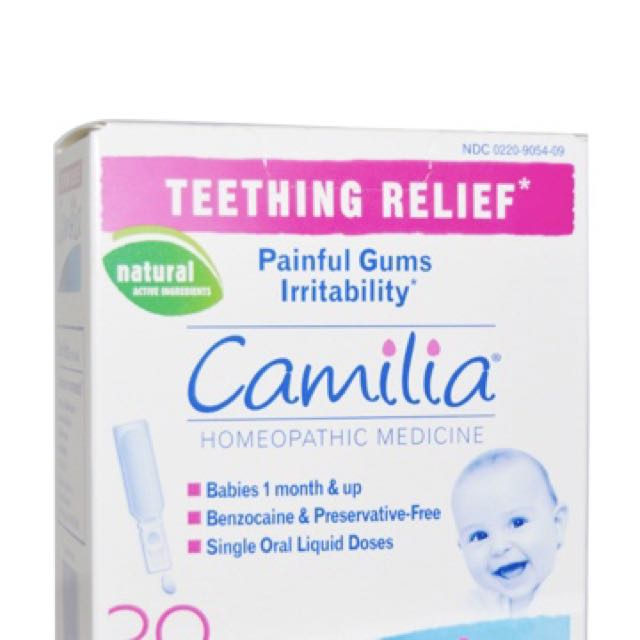 NEW BOIRON THEETHING RELIEF PAINFUL GUMS IRRITABILITY BENZOCAINE FREE BABY CARE